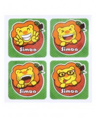 Simba Natural Orange Mosquito Repellent Sticker (12 pcs)