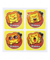 Simba Natural Orange Mosquito Repellent Sticker (24 pcs)