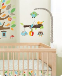 Skip Hop Treetop Friends Musical Crib Mobile