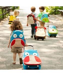 Skip Hop Zoo Little Kids Rolling Luggage