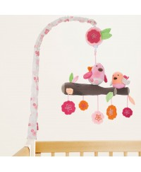 Skip Hop  Spring Time Birdie Musical Crib Mobile