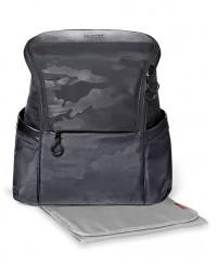 Skip Hop Paxwell Easy-Access Backpack - Black Camo