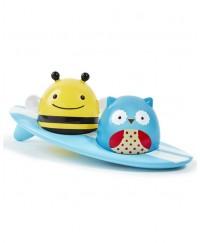 Skip Hop Zoo Light-Up Surfers Bath Toys