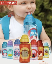 Skip Hop Zoo Skip Hop Zoo Straw Bottle