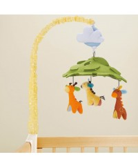 Skip Hop Giraffe Safari Musical Crib Mobile