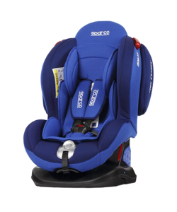 Sparco F2000K Car Seat Red/Blue (0-25Kg / 6 Yrs)