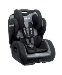 Sparco F700K Car Seat 1+2+3 Grey
