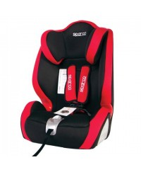 Sparco F1000K Car Seat 1+2+3 Red