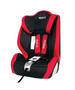 Sparco F1000K Car Seat 1 2 3 Red
