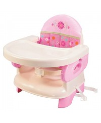 Summer Infant Deluxe Comfort Folding Booster Seat-pink