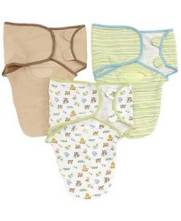 Summer SwaddleMe-3pk Cotton
