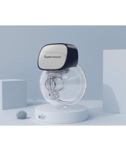 Supermama Air Wearable Breast Pump (Free Nuby Manual Silicone Breast Pump)