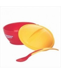 Tommee Tippee Big Weaning Bowl with H/S spoon