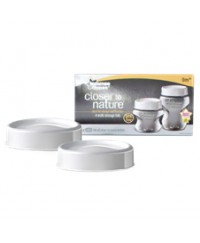 Tommee Tippee Closer to Nature Milk Storage Lids (pack of 2)