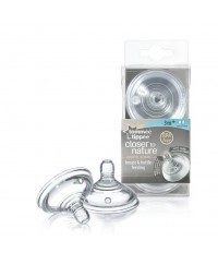Tommee Tippee Closer to Nature Teat - Medium Flow ( 2pcs / pack )