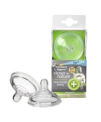 Tommee Tippee Closer to Nature Anti Colic Plus Teat - Medium Flow ( 2pcs / pack )