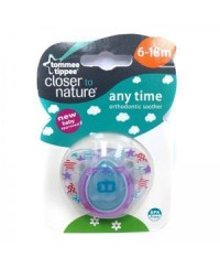 Tommee Tippee Closer to Nature Anytime Soother 6-18m (1pk)