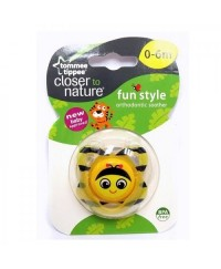 Tommee Tippee Closer to Nature Fun Soother 0-6m (1pk)