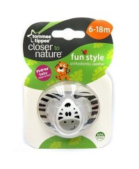 Tommee Tippee Closer to Nature Fun Soother 6-18m (1pk)