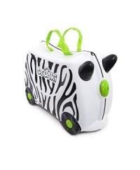 Trunki Suitcase - Zebra