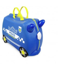 Trunki Suitcase - Percy the Police Car