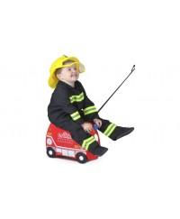 Trunki Suitcase - Fire Engine Frank