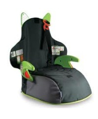 Trunki BoostApak Booster Seat + Back Pack ( Green )