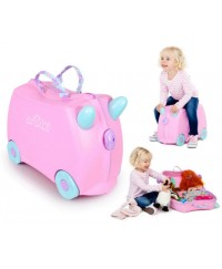 Trunki Suitcase - Rossie ( Light Pink)