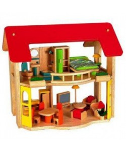 Voila Happy Home and Furniture Doll House