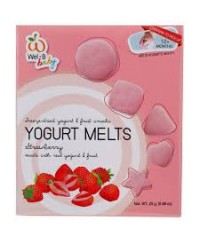 Wel-B Baby Freeze Dried Yogurts Strawberry