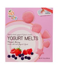 Wel-B Baby Freeze Dried Yogurts Mix Berry