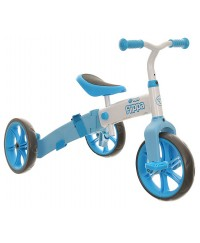 Yvolution Velo Flippa Tricycle and Balance Bike- Blue