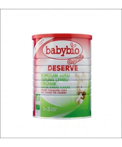 Babybio Organic Deserve, Formulated Milk (1-3 years old)