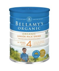 Bellamy's Step 4 Organic Junior Milk Drink ( From 3 yrs) - 900g x 3