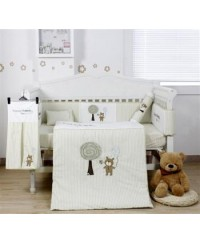 Bumble Bee: 7pc Embroidery Crib Set (Forever Friends)