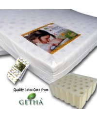 "Bumble Bee Latex Cot Mattress 48"" x 24"" x 3"""