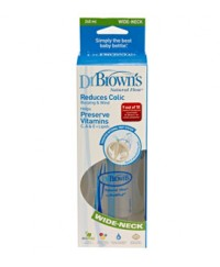 Dr. Brown's 8oz/240ml Wide Neck Bottle