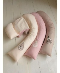 Dreamgenii 2 in 1 Pregnancy Support & Feeding Pillow Color