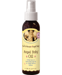 Earthmama Angelbaby Baby Oil 120ml