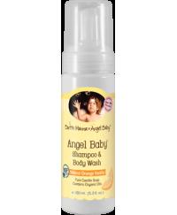 Earthmama Angelbaby Baby Shampoo & Body Wash 160ml
