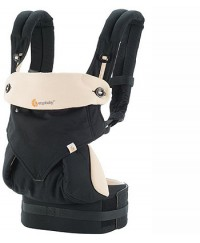Ergobaby Four Position 360 Baby Carrier Natural - Black / Camel