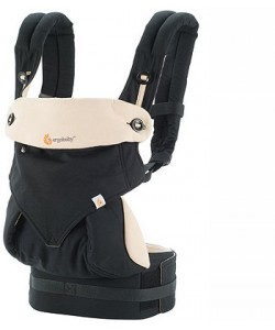 Ergobaby Four Position 360 Baby Carrier - Black / Camel
