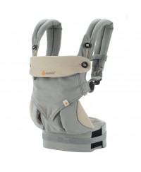 Ergobaby Four Position 360 Baby Carrier Natural- Grey