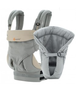 Ergobaby Bundle Four Position 360 Baby Carrier - Grey