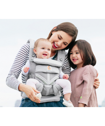 Ergobaby Omni 360 Baby Carrier All-In-One: Cool Air Mesh