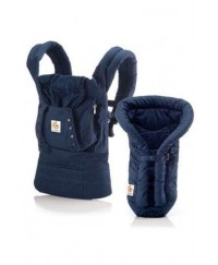 Ergobaby ORGANIC Bundle of Joy with Navy Insert