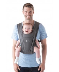 Ergobaby Embrace Cozy Newborn Carrier- Grey