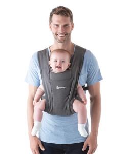 Ergobaby Embrace Cozy Newborn Carrier- Grey