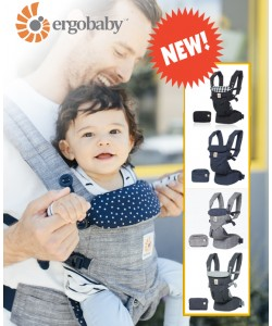 Ergobaby Omni 360 4 Position All-in-one Baby Carrier *NEW