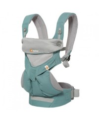 Ergobaby Four Position 360 Baby Carrier - Cool Air Mesh (Carbon Grey)